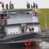 5. März 2015: Königin Máxima hat die Ehre, einen nach ihr benannten Kanal in Den Bosch zu eröffnen.