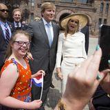 29. Mai 2015: König Willem-Alexander und Königin Máxima sind zu Besuch im kanadischen Toronto.