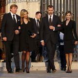 8. Juni 2015: Das niederländische Königspaar Willem-Alexander und Máxima trifft in Madrid König Felipe und Königin Letizia. Die Royals wohnen der Beerdigung des bulgarischen Prinzen Kardam bei.