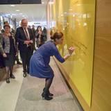 18. November 2015: Prinz Daniel und Prinzessin Victoria besuchen an der Karlstad Universität in der schwedischen Provinz Värmland ein Psychologie-Seminar.