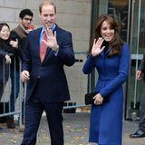 """23. Oktober 2015: Prinz William und Herzogin Catherine treffen beim """"Family Fun Day"""" am Theater im schottischen Dundee ein."""