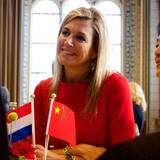 "1. Oktober 2015: Königin Máxima nimmt an der Konferenz ""China in the Netherlands"" teil."