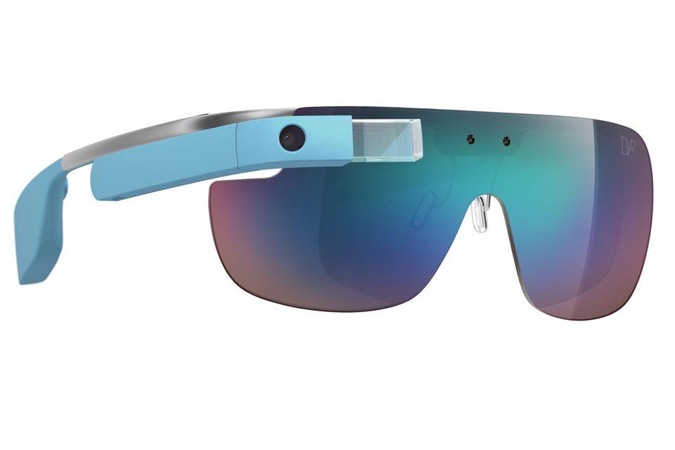 Technology & Fashion:  Sonnenbrille von Diane von Furstenberg, ca. 1.500 Euro