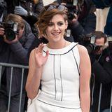 Kristen Stewart darf bei der Haute-Couture-Show von Chanel natürlich nicht fehlen.