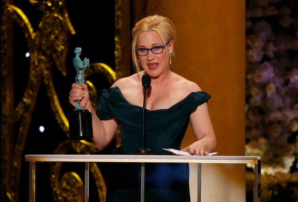 """Patricia Arquette wird für ihre Rolle in """"Boyhood"""" ausgezeichnet."""
