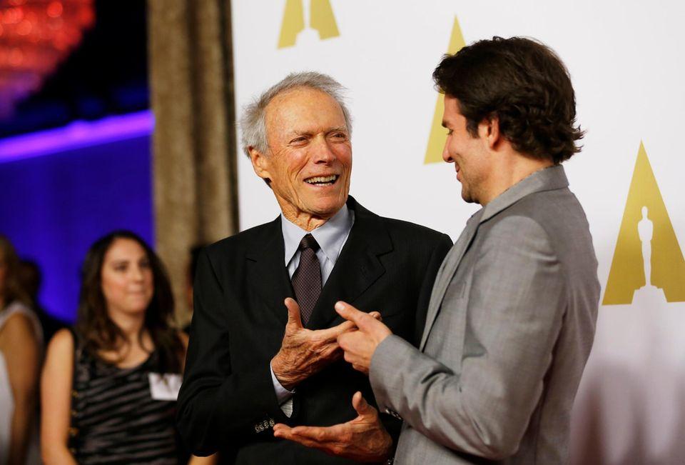 Clint Eastwood und Bradley Cooper