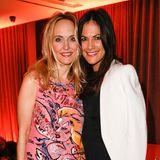 """Gala-Chefredakteurin Anne Meyer-Minnemann und Schauspielerin Bettina Zimmermann feiern gemeinsam im Hotel """"Das Stue"""". Bettina Zimmermann: """"Ich liebe die Berlinale und freue mich, heute Abend hier sein zu dürfen."""""""