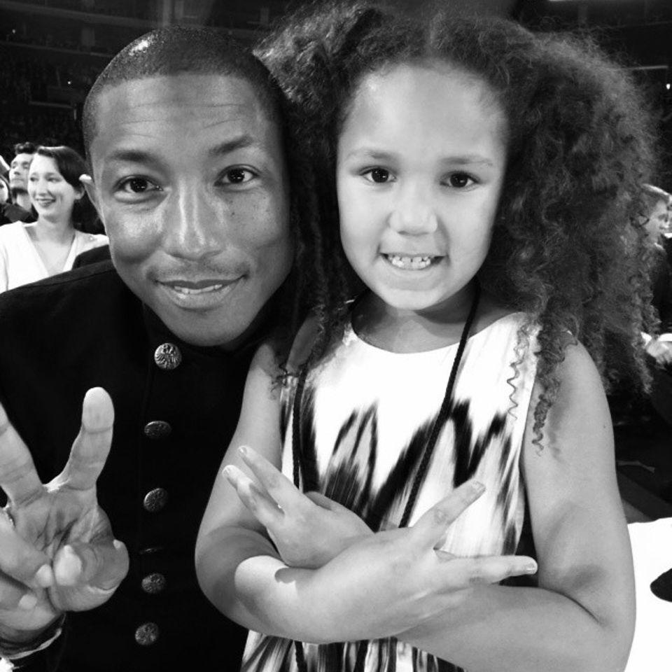 Pharrell Williams und Annalise Bishop