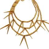 Treiben Sie es auf die Spitze! Sexy Stachelkette, von Vintage Christian Dior, ca. 3100 Euro, über www.stazialoren.com