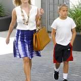 23. Juli 2013: Junge, ist der groß geworden. Lange haben wir Deacon nicht mehr an der Seite seiner Mutter Reese Witherspoon gesehen.