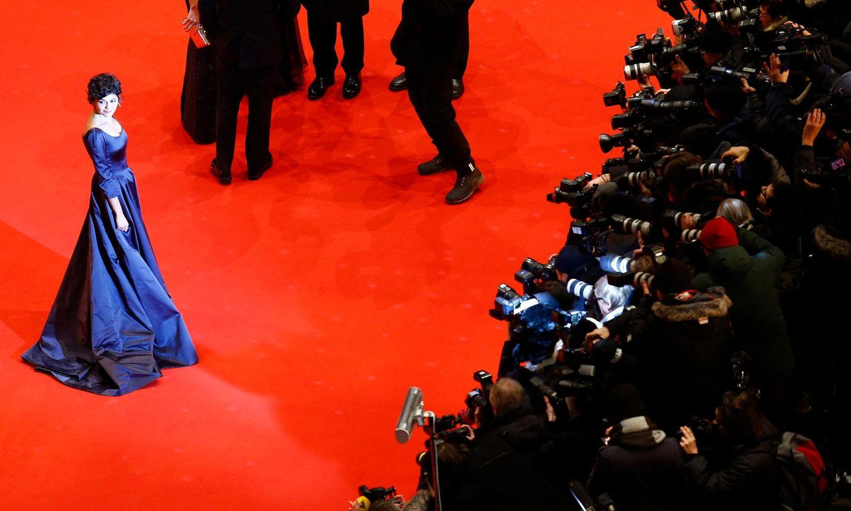 Was für ein Anblick! Audrey Tautou begeistert die Fotografen in ihrer atemberaubenden Robe.