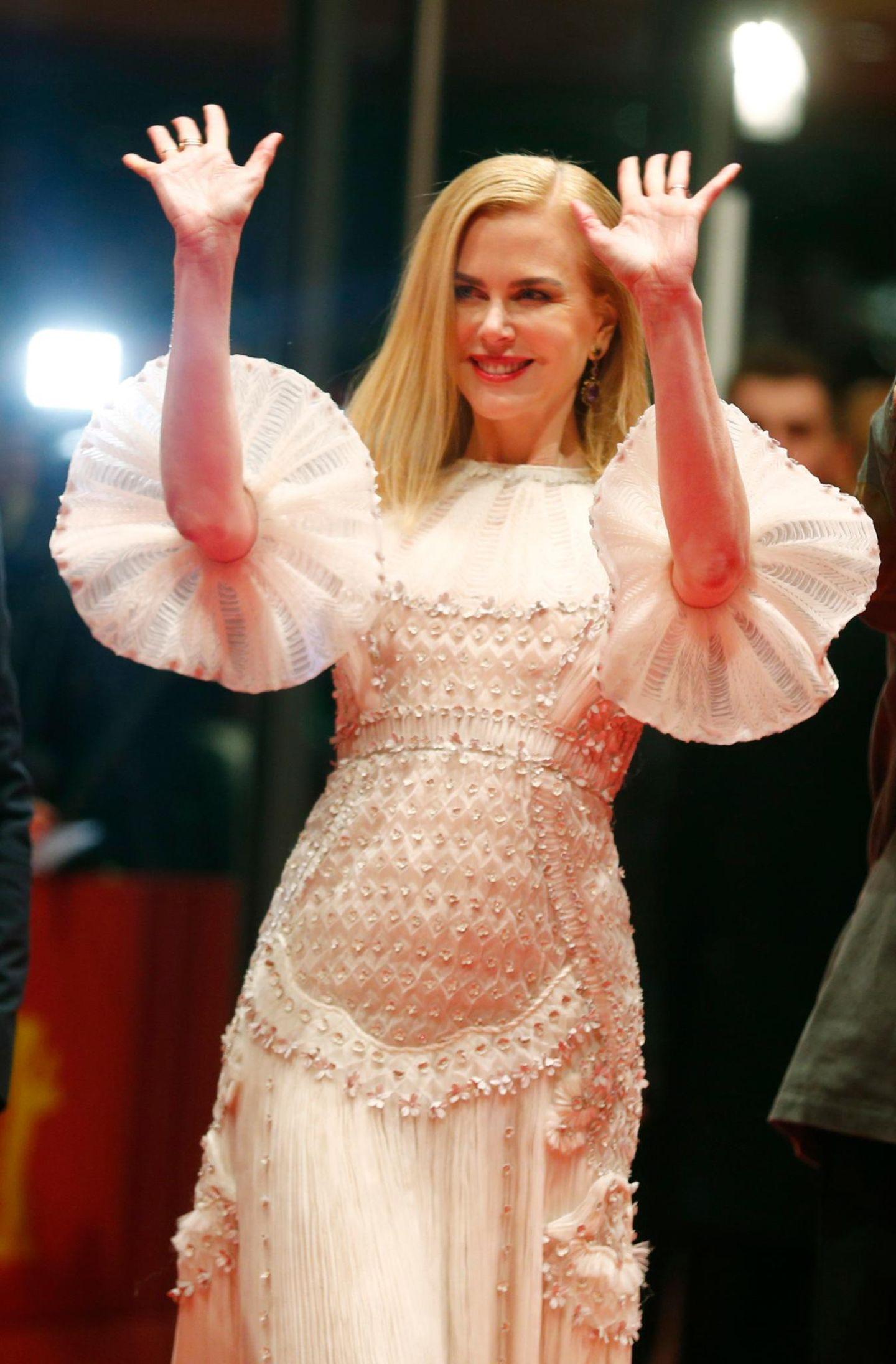 Hollywood-Star Nicole Kidman bringt Glanz und Glamour in die deutsche Hauptstadt.