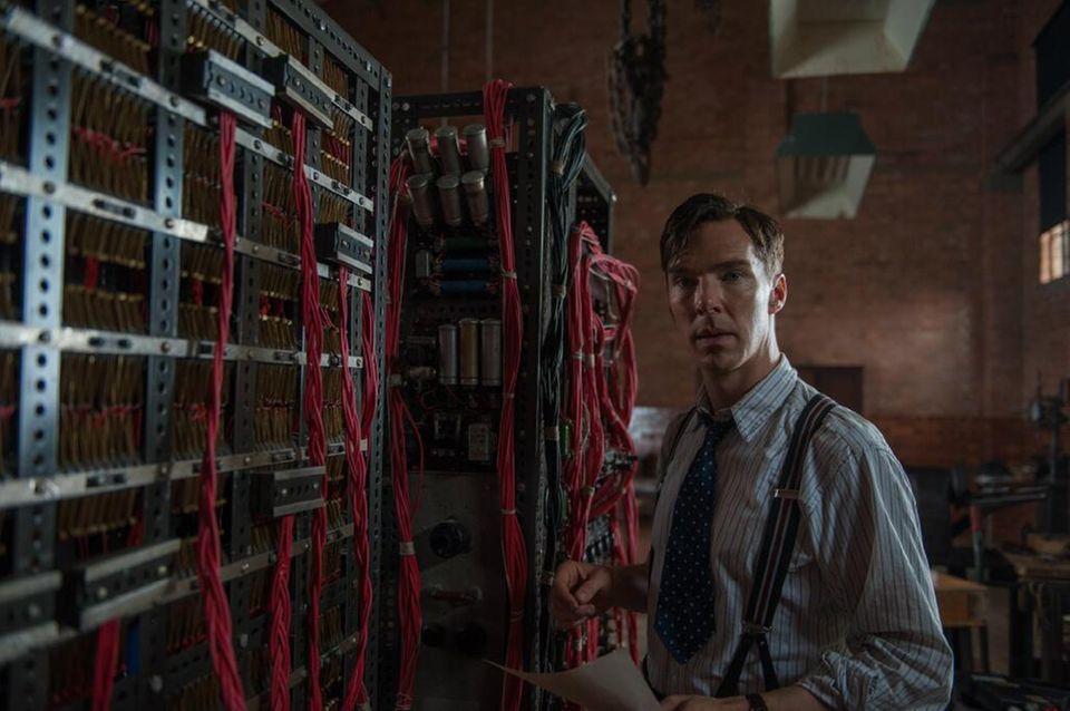 """Bester Hauptdarsteller in Deutschland: Benedict Cumberbatch in """"The Imitation Game"""""""