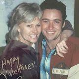 """Zu diesem Bild aus den Anfängen der Liebe zwischen Hugh Jackman und Deborra-Lee Furness schreibt er ganz einfach: """"Happy Valentine's Day! #MyDebs"""""""