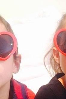 """""""Meine lustigen Valentines"""", schreibt Jennifer Lopez zu diesem Bild ihrer Zwillinge Max und Emme."""