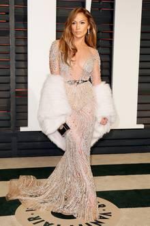 Jennifer Lopez in Zuhair Murad Couture