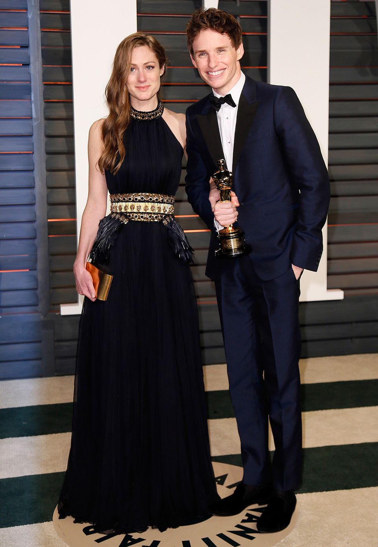 Oscar-Gewinner Eddie Redmayne mit seiner Frau Hannah Bagshawe
