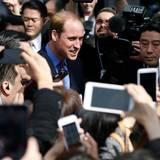 Japan Tag 3: Prinz William ist in Tokio im Mittelpunkt des Interesses.