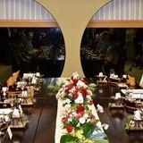 "Japan Tag 3: Im ""Yukuta"" nimmt der royale Gast an einem Dinner in Koriyama teil."