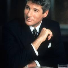 """Auch in Richard Geres Karriere ist """"Pretty Woman"""" ein absoluter Höhepunkt. Als charmanter Geschäftsmann Edward Lewis erobert er die Herzen der weiblichen Zuschauer und wird zu einem von Hollywoods absoluten Traummännern."""