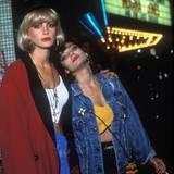 """In """"Pretty Woman"""" steht Laura San Giacomo als Prostituierte Kit De Luca ihrer Freundin Vivian stets zur Seite und verhilft ihr mit ihrer taffen Art in ein besseres Leben."""