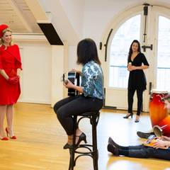 """Deutschland Tag 2  In der """"Joop van den Ende Academy of Stage Entertainment"""" gibt es einiges zu sehen - und zu hören. Studenten präsentieren ihr Können."""