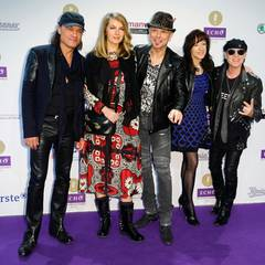 """Die """"Scorpions"""" kommen zur Preisverleihung in Berlin."""