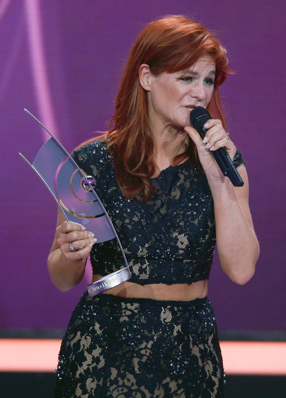 """Andrea Berg ist bester """"Live Act National""""."""