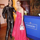 Die Bar von POMMERY erfreute sich großer Beliebtheit, auch Jorge Gonzalez und Judith Rakers ließen es sich nicht nehmen, dort vorbei zu schauen