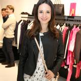 Stephanie Stumph (Schauspielerin) genoss die Exclusive Shopping bei der In-Boutique Monika Scholz in Baden-Baden