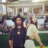 """Für Sean Lennon hat das """"Coachella""""-Festival eine ganz besondere Bedeutung. Genau an dieser Stelle habe er vor zehn Jahren seine Freundin Charlotte kennengelernt, schreibt er bei Instagram."""