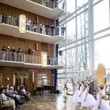 Zum Empfang im Rathaus gibt es eine kleine Ballett-Vorführung für die royalen Gäste.