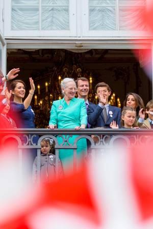 Königin Margrethe und ihre Familie