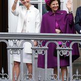 Aus Schweden sind, nach Königin Silvia und König Carl Gustaf, auch Prinzessin Victoria und ihr Mann Daniel nach Dänemark gekommen.