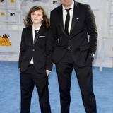 Mark Ruffalo und seine Tochter Bella kommen im Partnerlook.