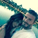"""Am Ende macht David Beckham seiner Victoria noch eine zuckersüße Liebeserklärung und teilt sie mit der ganzen Welt: """"Danke an meine wunderschöne Frau für diesen großartigen Tag."""""""
