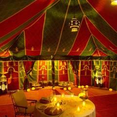 Das Resort ist ganz im Stile eines Sultan-Palastes gehalten.