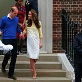 William und Catherine bringen ihre Tochter aus dem Krankenhaus.
