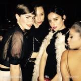 Lily Collins, Liana Weston, Banks und Selena Gomez