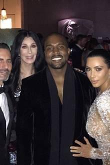 Marc Jacobs, Cher, Kanye West und Kim Kardashian