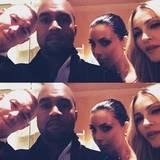 Diplo, Kanye West, Kim Kardashian und Madonna