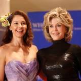 Ashley Judd und Jane Fonda lassen sich das Event nicht entgehen.
