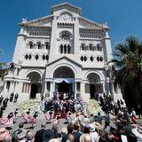 In Monaco wird die Taufe von Prinz Jacques und Prinzessin Gabriella gefeiert.