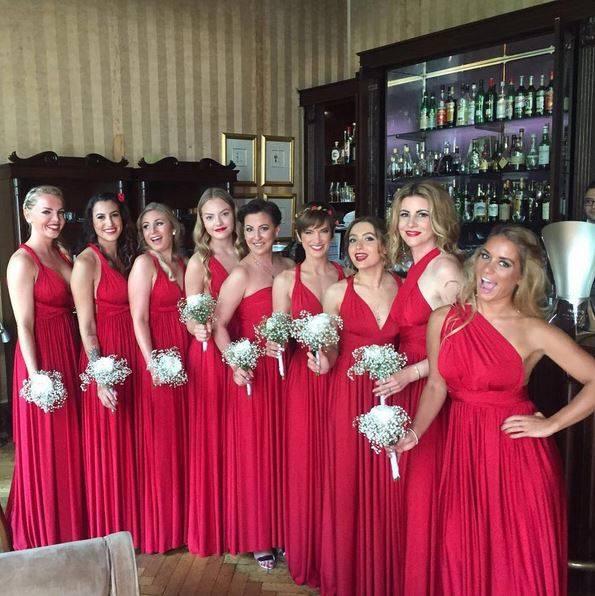 Hochzeits-Looks: Fotos von Stars als Brautjungfern - S. 27   GALA.de