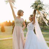 Taylor Swift freut sich, dass sie bei der Hochzeit ihrer besten Freundin Britany Maack die Brautjungfer sein darf.