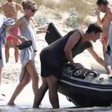 Mario Gomez urlaubt mit seiner Freundin auf Formentera Carina Wanzung