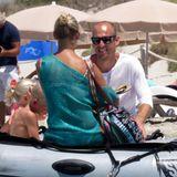 Arjen Robben erholt sich mit seiner Familie auf Formentera.