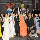 Ay, caramba! Auf der Elizabeth Street auf der Lower Eastside feiern die Models noch ordentlich weiter.