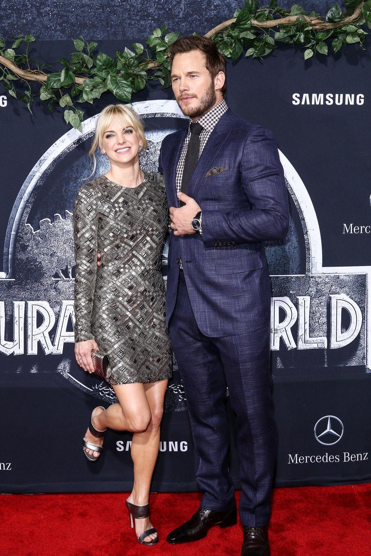 Anna Faris und Chris Pratt