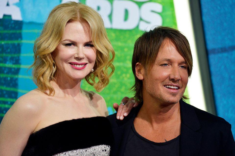 Nicole Kidman und Keith Urban sind Stammgäste bei der Awardshow. Wer einen Preis bekommt, entscheiden übrigens die Fans.